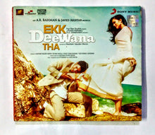 Buy Hindi audio cd of Ekk Deewana Tha online from avdigitals. AR Rahman Hindi audio cd online.
