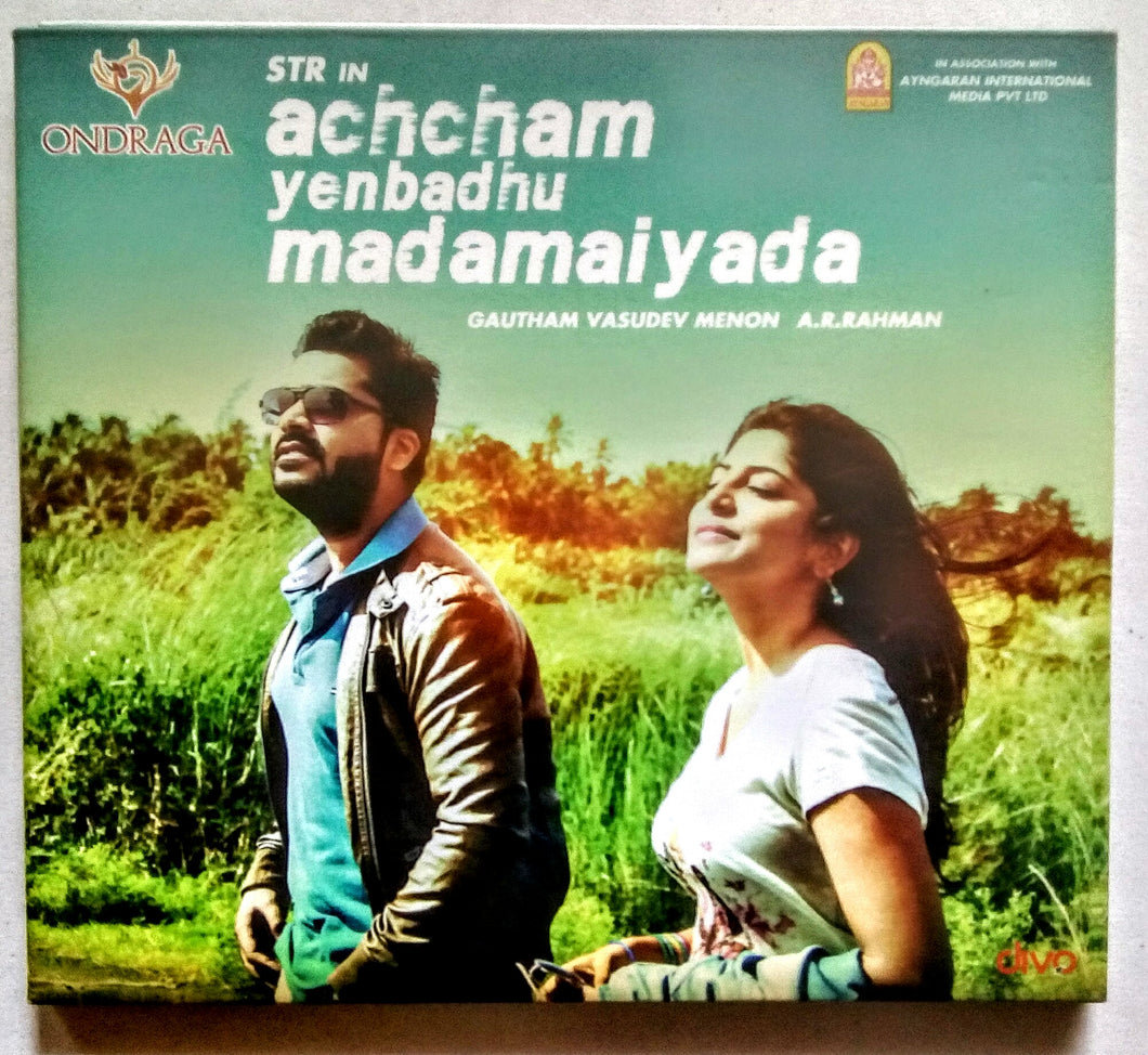 Buy Tamil audio cd of Acham Enbadhu Madamaiyada online from avdigitals. AR Rahman Tamil audio cd online.