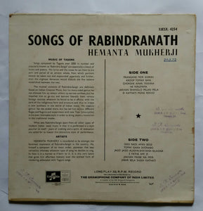 Songs of Rabindranath - Hemanta Mukherji