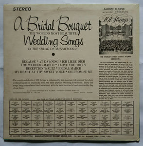A Bridal Bouguel From 101 Strings