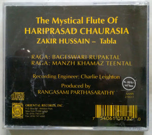The Mystical Fiute Of Hariprasad Chaurasia Zakir Hussain - Tabla
