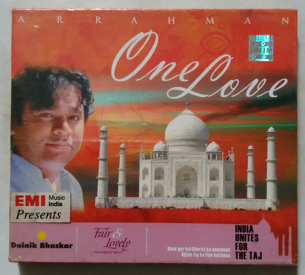 A. R. Rahman One Love ( India Unites For The Taj )
