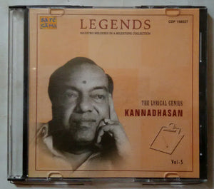 Legends The Lyrical Genivs Kannadasan Vol -5