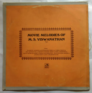 Movie Melodies Of M. S. Viswanathan Tamil Films