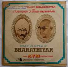 Immortal Songs Of Bharathiyar