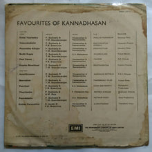 Favourites Of Kannadasan