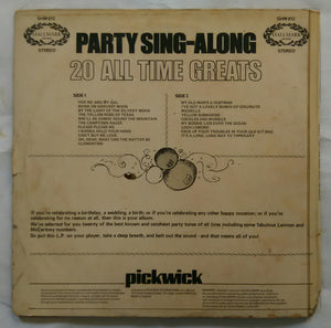 Party Sing - Along ( 20 All Time Greats )