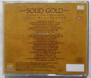 Solid Gold A Treasure Trove Of Masterpieces ( Leta Mangeshkar Vol -2 )