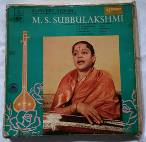M. S. Subbulakshmi ( Concert Album A Set Of Three Long Playing Records )