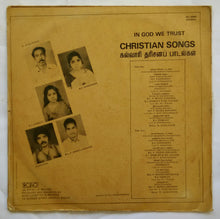 "Christian Songs "" In God We Trust "" Jhon Moses - Music : D. Augustine "" Tamil"