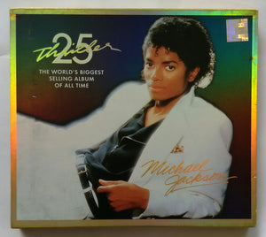 "Michael Jackson 25 Thriller : The World's Biggest Selling Album Of All Time "" 1 CD & 1 DVD."