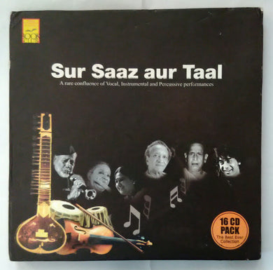 Sur Saaz Aur Taal ( A Rae Confluence Of, Instrumental & Percussive Performances ) 16 CD Pack