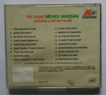 The Legend Mehdi Hassan ( Ghazals From Films )