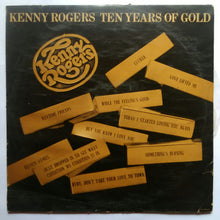Kenny Rogers -Ten Years Of Gold