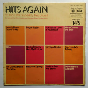 "Hits Again "" 12 Top Hits Superbly Recorded """