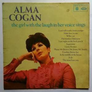 "Alma Cogan "" The Girl With The Laugh In Her Voice Sings """