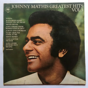 Johnny Mathis Greatest Hits Vol III