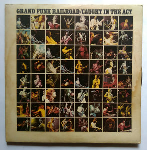 Grand Funk Railroad / Caught In The Act ( LP : 1&2 )