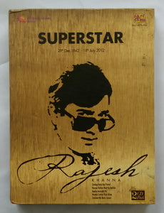 "Superstar Rajesh Khanna "" 29th Dec ,1942 - 18th July 2012 "" 2 CD Pack"