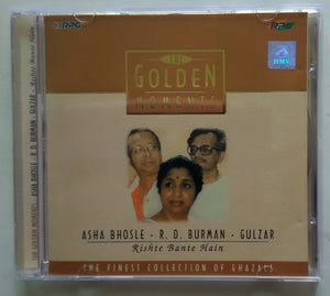 "Golden Moments - Asha Bhosle , R.D.Burma , Gulzar "" The Finest Collection Of Ghazals """