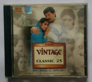 "Vintage Classic 25 "" Best Songs Of 1976 to 2001 "" Tamil Film Collections Vol :2"