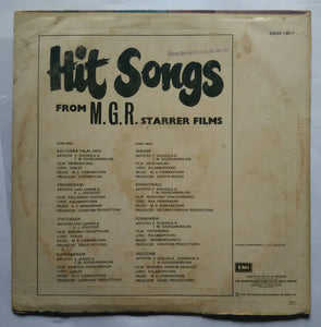 Hit Songs From M.G.R.Starrer Films