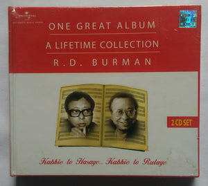"Kabhie To Hasaye ...Kabhie To Rulaye "" R . D. Burman "" 2 CD Set"