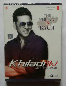 "Khiladi No :1 Akshay Kumar "" A Set Of 3 ACD's """
