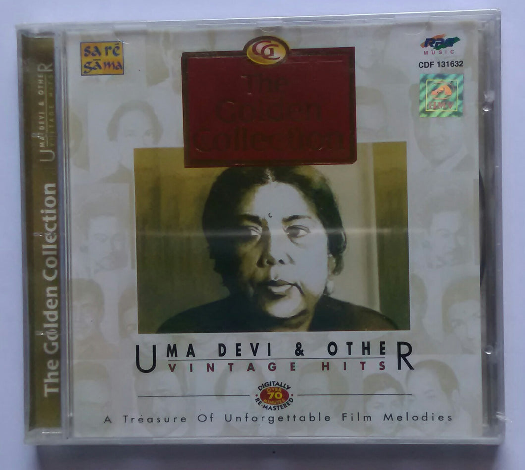The Golden Collection ' Uma Devi & Others ' Vintage Hits