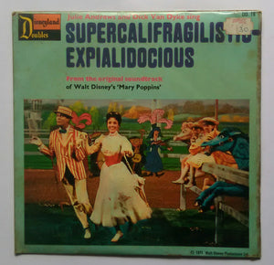 "Supercalifragilistic - Expialidocious "" A Spoonful Of sugar "" ( Original Soundtrack , EP 45 RPM )"