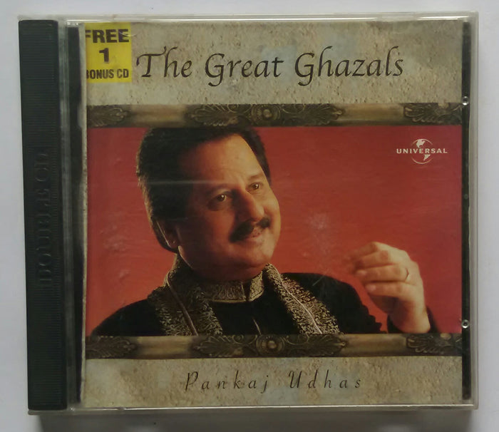 The Great Ghazals Pankaj Udhas ' With Free CD :1 '