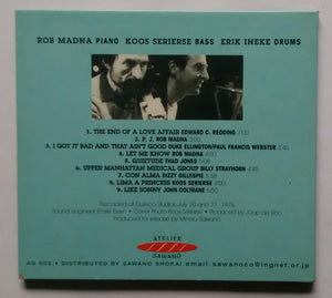 Trio Rob Madna - I Got It Bad And That Ain't Good