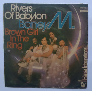 "Boney M "" Rivers Of Babylon & Brown Girl In The Ring "" ( Std Play 45 RPM )"