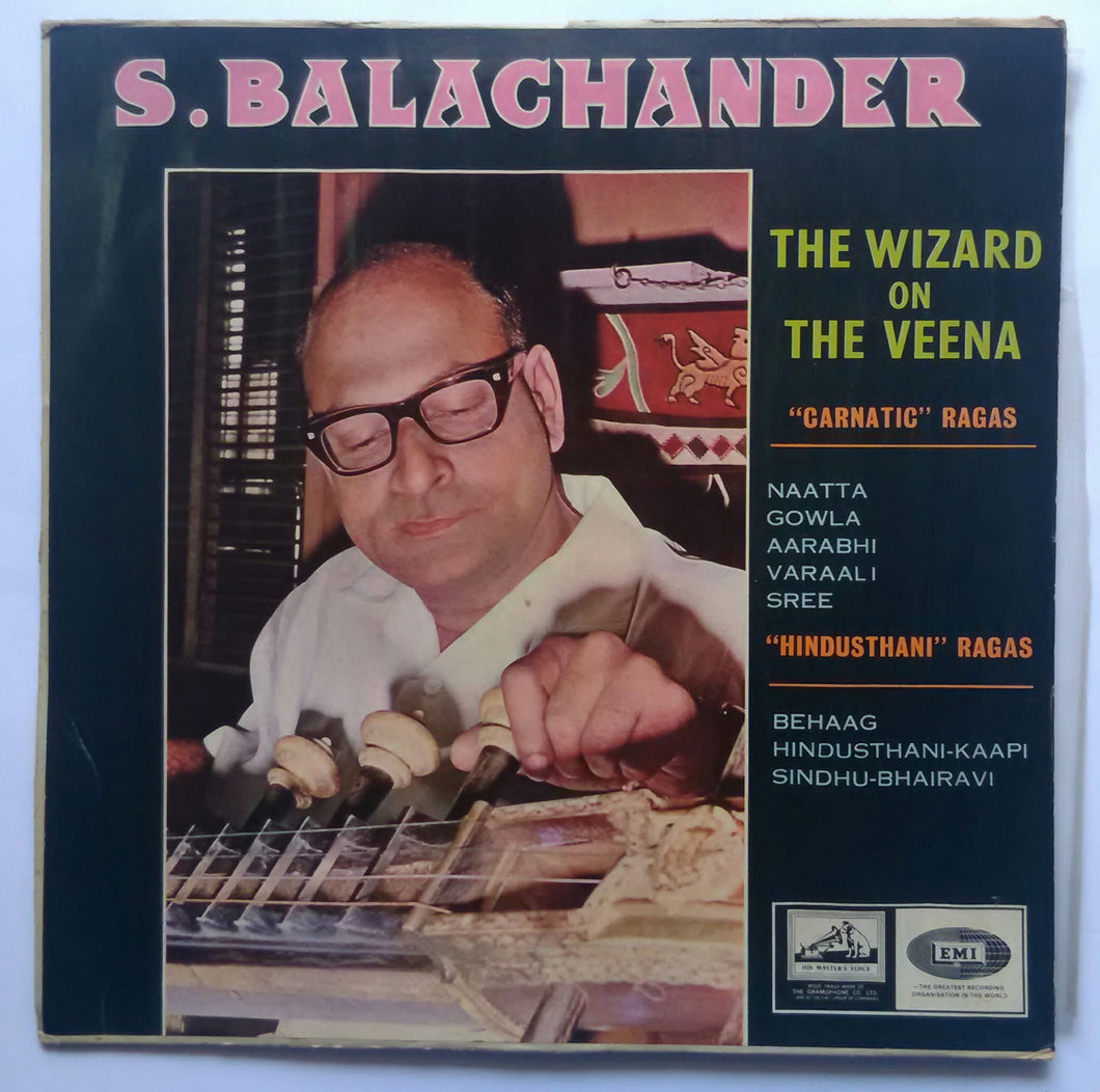 S. Balachanden - The Wizara On The Veena