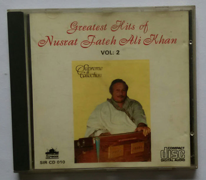 Greatest Hits Of Nusrat Fateh Ali Khan ( Vol :2 )