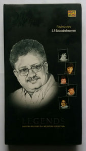 "Legends Maestro Melodies In A Milestone Collection "" Padmasree S. P. Balasubramaniam "" ( 5 CD Pack ) ("