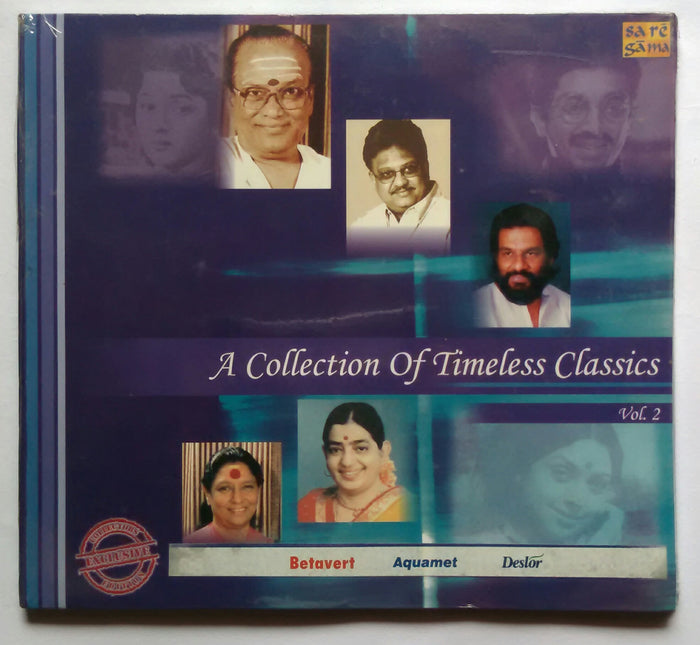 A Collection Of Timeless classics Vol :2, 1950s , 1960s , & 2000 ( 3 CD Pack )