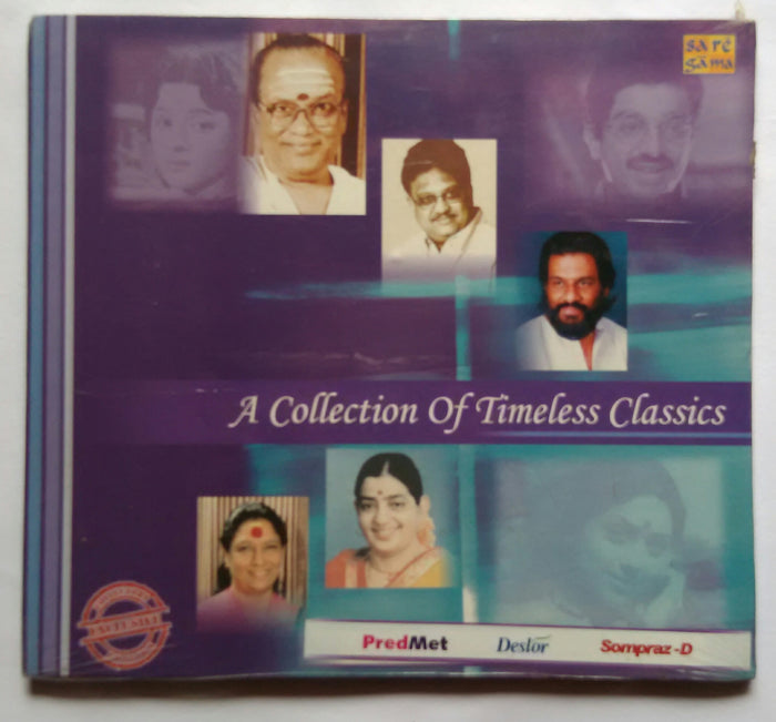 A Collection Of Timeless Classics - 1950s - 1960s - 1970s ( 3 CD Pack )
