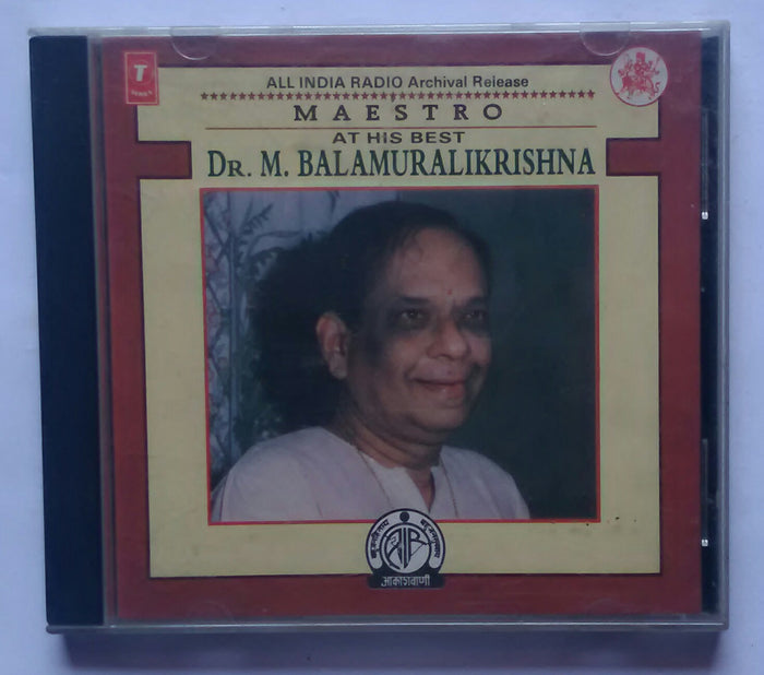 Maestro At His Best Dr. M. Balamuralikrishna