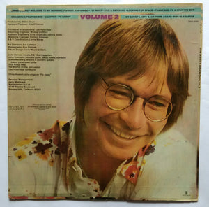 "John Denver's Greatest Hits "" Volume 2 """