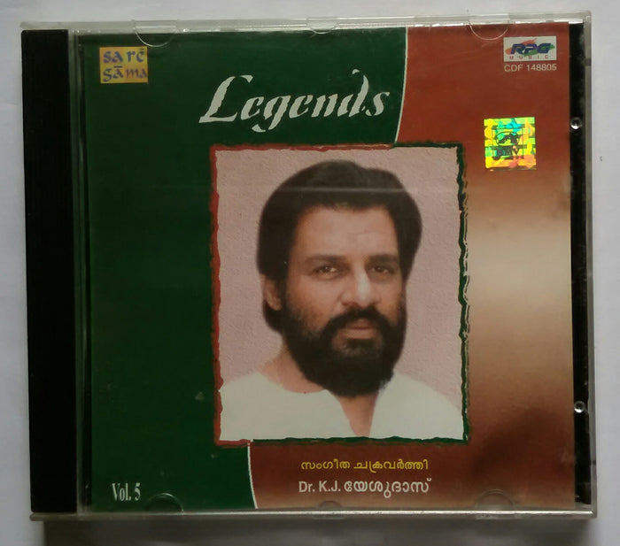 Legends Sangeetha Raja - Dr. K. J. Yesudas ( Malayalam Film Songs ) Vol : 5