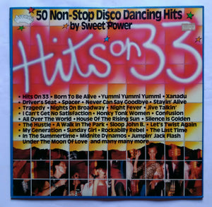 "50 Non-Stop Disco Dancing Hits By Sweer Power "" Hits On 33 """