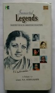 "Immortal Legens "" Maestro Vocal In A Milestone Collection "" A Tribute to Srimati M. S. Subbulakshmi ( Vol :1&5 )"