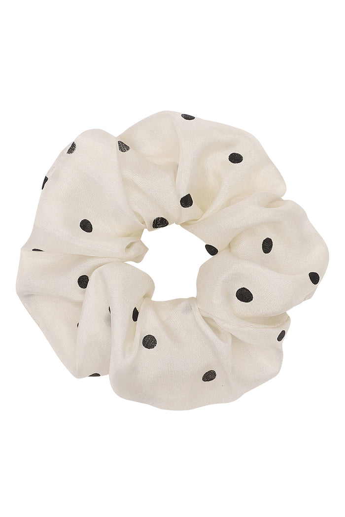 Moshi Moshi Mind - Dotted Scrunchie Silk