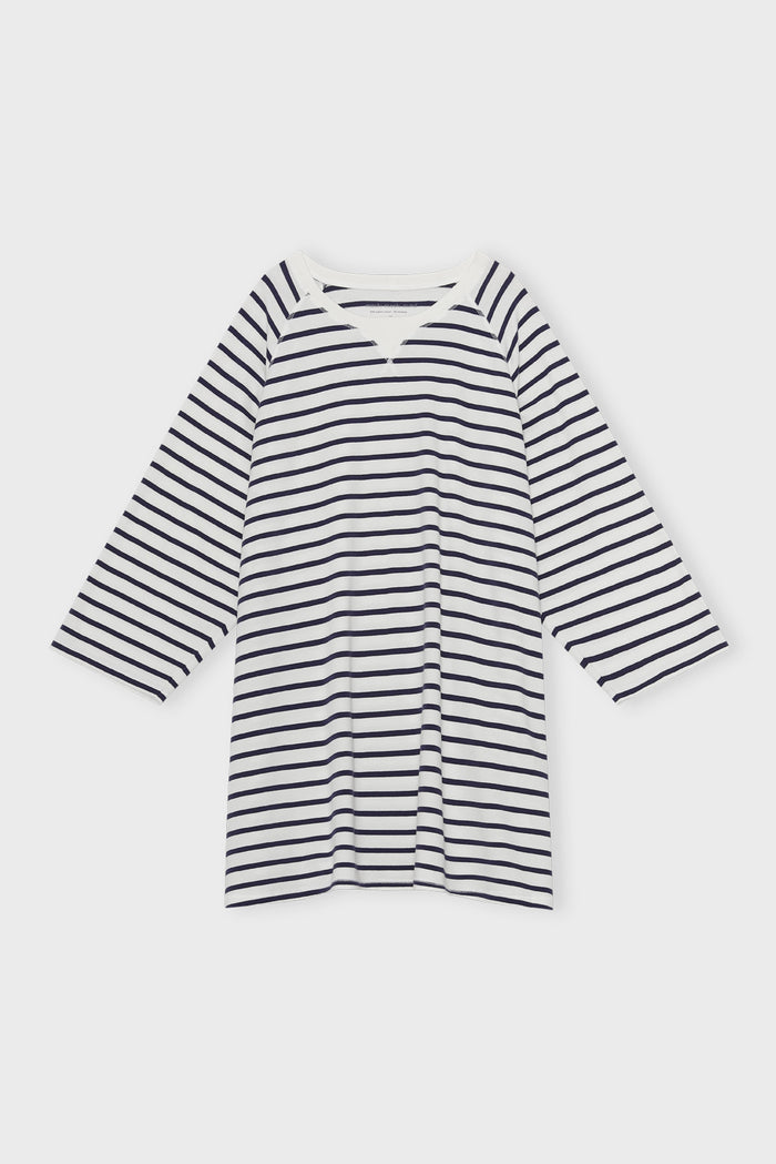 Moshi Moshi Mind - Fall Sweatdress - Stripe