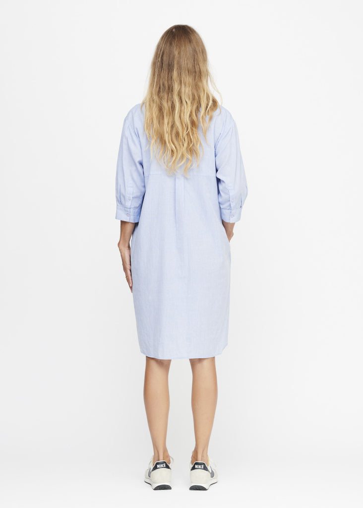 Moshi Moshi Mind - Kate Dress Chambray - Lyseblå