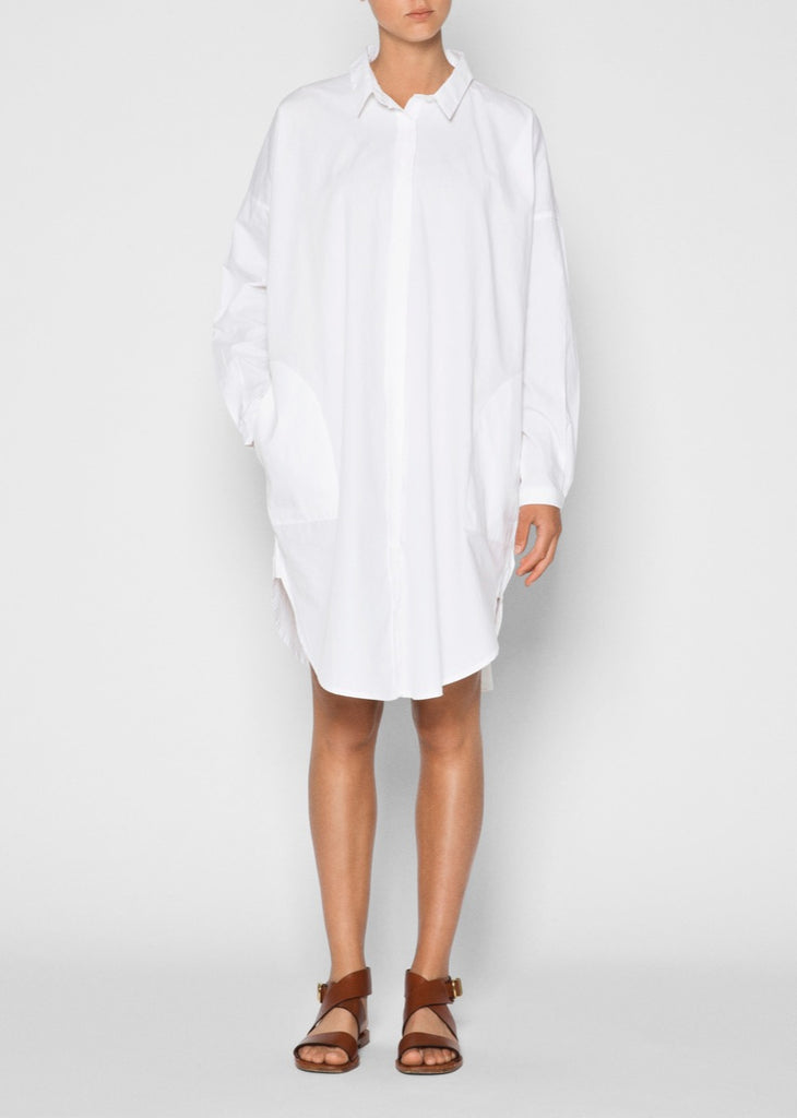 Aiayu - Shirt Dress - White