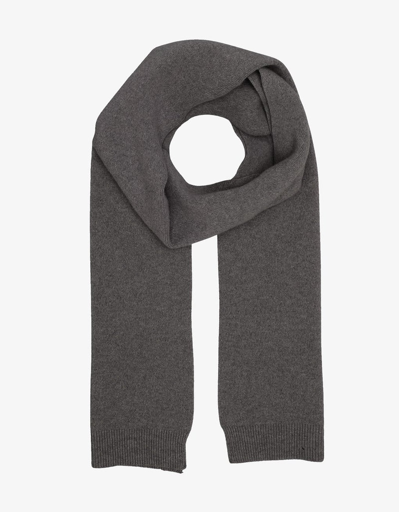Colorful Standard - Merino Wool Scarf - Lava Grey