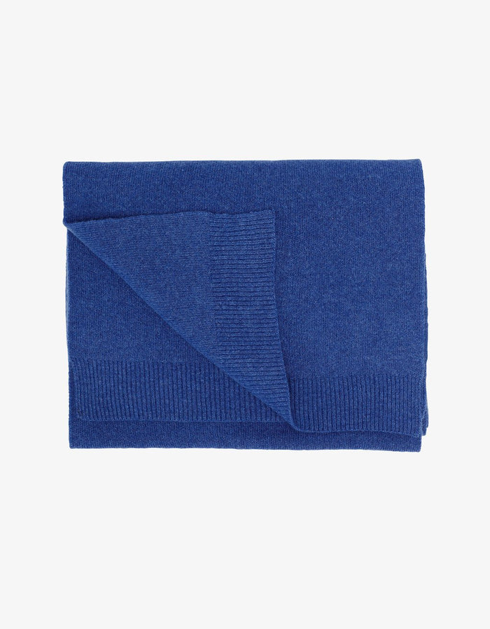 Colorful Standard - Merino Wool Scarf - Royal Blue