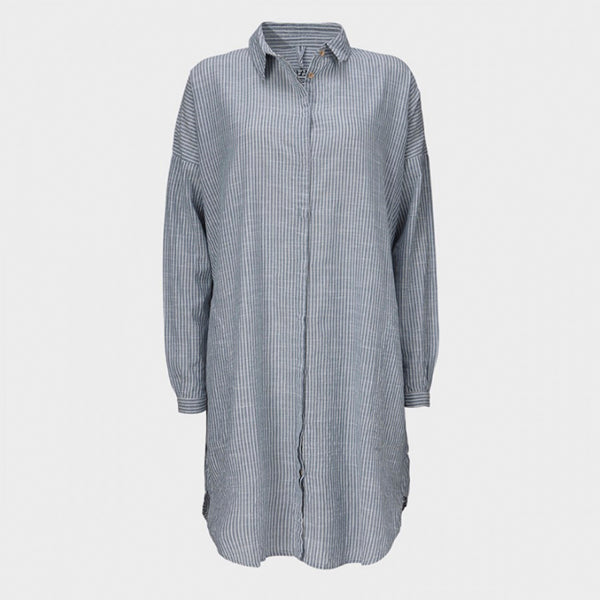 Aiayu - Shirt Dress stribet
